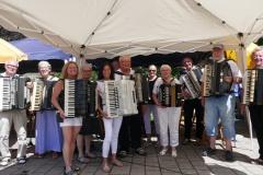 Oldie-Orchester-Gartenfest